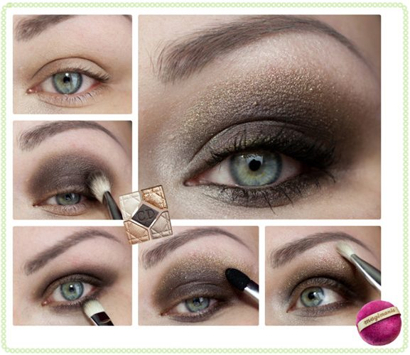 How to apply smoky eye makeup