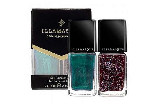 illamasqua nail varnish duo emerald bmodish.com
