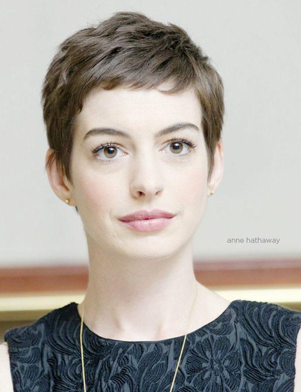 Wondrous Chic Look Celebrities Hairstyles In Pixie Cut Be Modish Short Hairstyles Gunalazisus