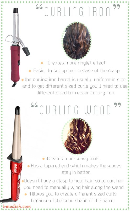 hair wand vs curling iron