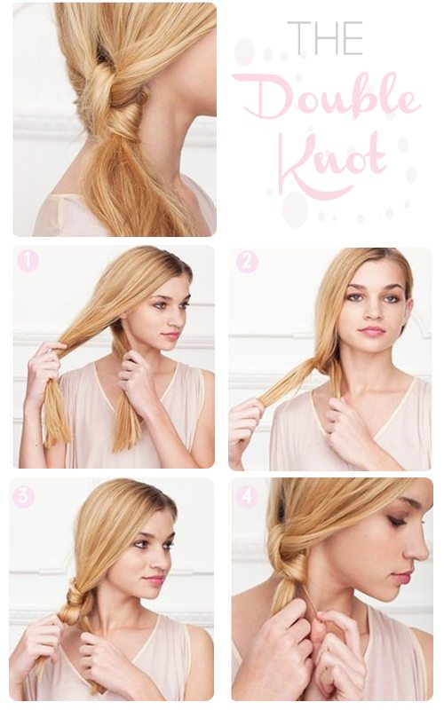 double knot hairstyle bmodish.com