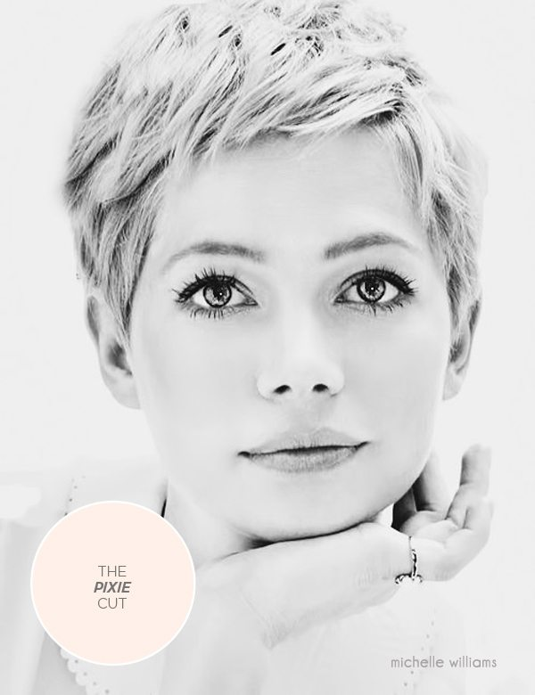 michelle williams pixie cut bmodish.com
