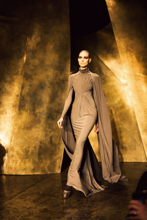 donna karan for fall 2013