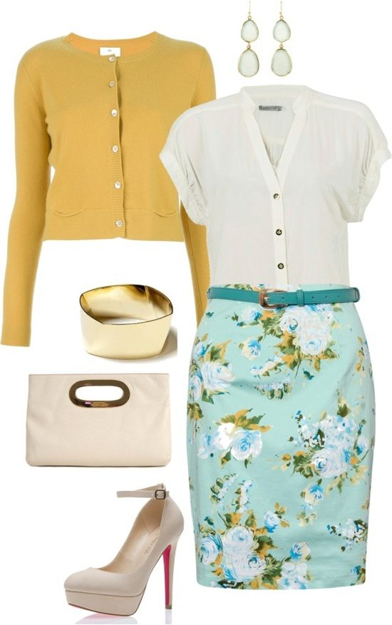 easter outfits polyvore