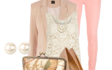 spring outfits with pastel