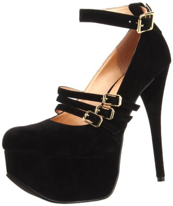 Luichiny Pam Per Platform Pumps Black