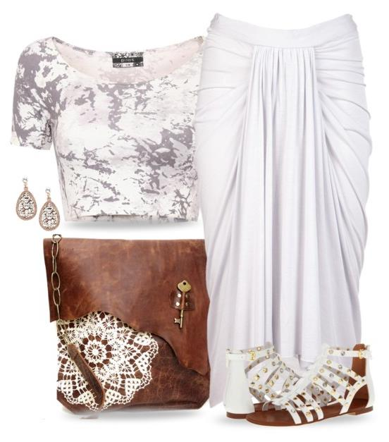 summer outfit white   Be Modish