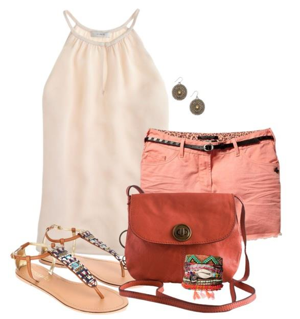 Sweet Soft Peach Summer Outfits Be Modish