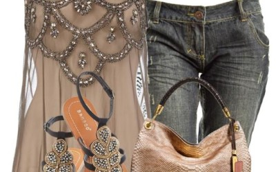 bejeweled summer outfit