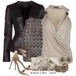Classy outfit Leather Blazer