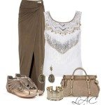 summer outfit fringed tank