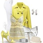 yellow spring outfit