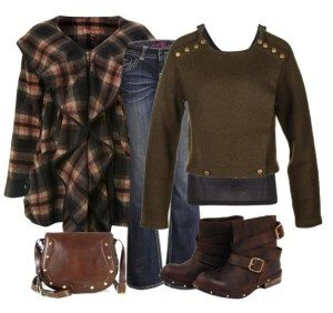 fall quick lunch outfit - fall outfits polyvore