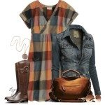 How to Wear Dress For Fall 2013