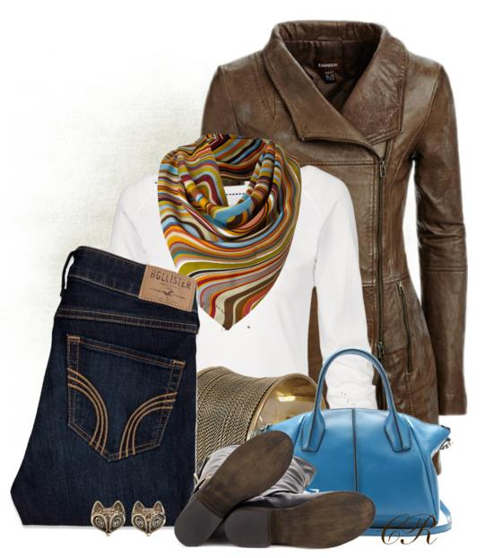 Ideas How To Style Swirly Scarf