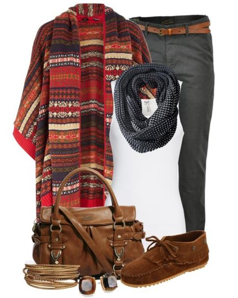 Oversize Cardigan Fall Outfits