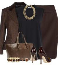 Pencil skirt outfit - Modern Work Outfit