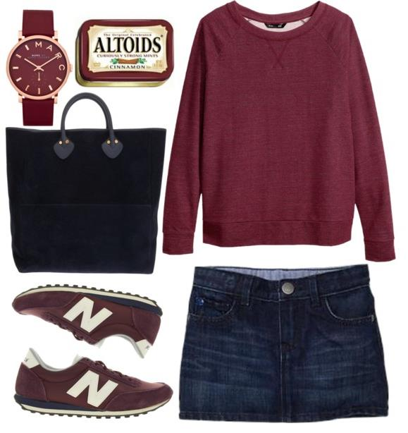 cute school outfit polyvore