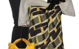 Casual Black and Yellow Saturday Outfit