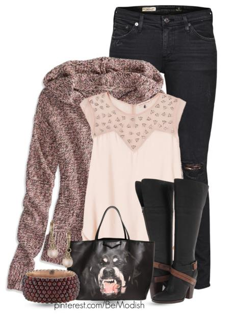 Casual fall outfit with steve madden boots