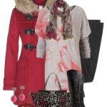 Classy Winter Outfit With Burberry Winter Coat