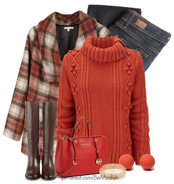 Cute Casual Winter Outfits With Brown Boots