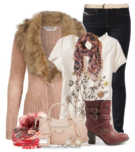 Cute and Comfy Fall Outfits Idea 2014