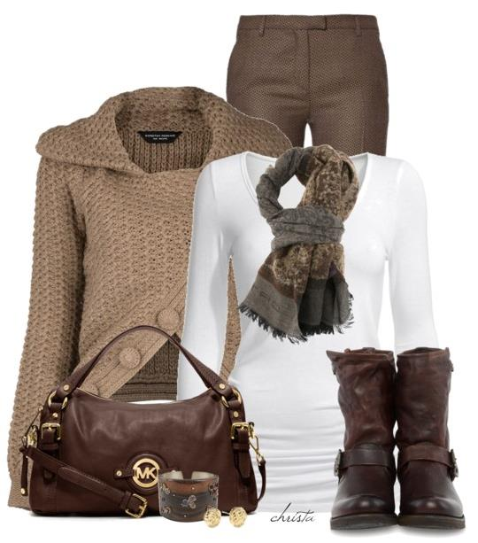 Edgy Winter Outfits Idea 2014