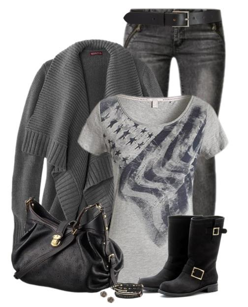 long sleeve cardigan for fall winter outfit