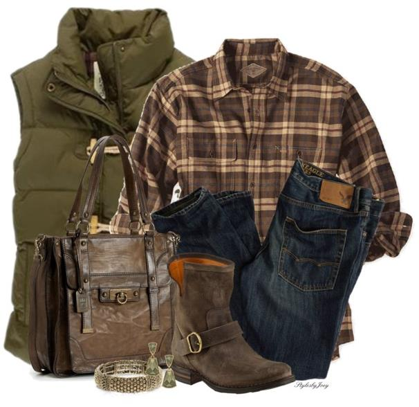 Plaid Shirt For Your Casual Fall Outfit Style