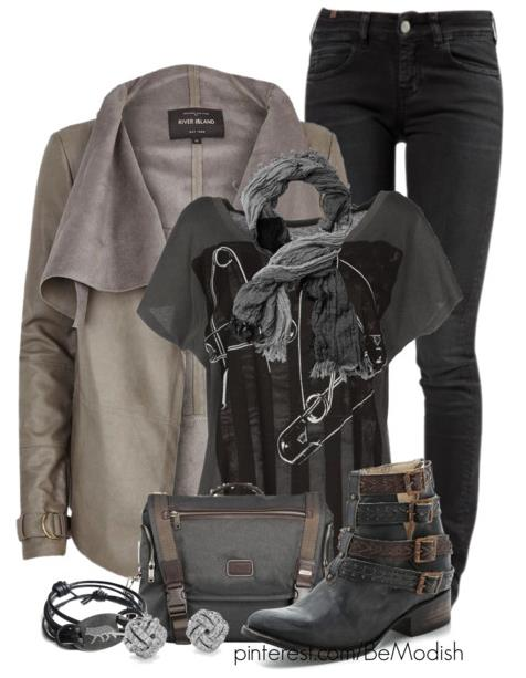 casual fall outfit bmodish.com