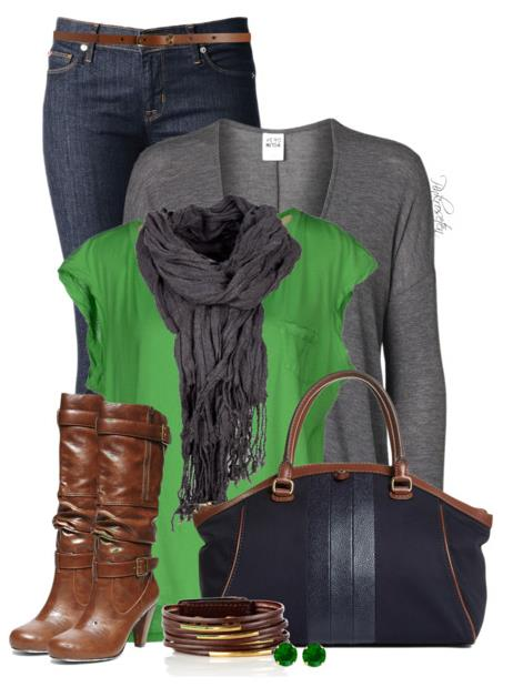 Simple Comfort Fall Outfit Idea Polyvore