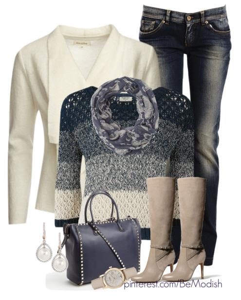 Winter Fall Outfits Paris Style