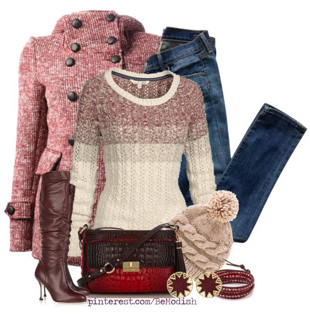 casual winter outfit 2014 bmodish.com - Be Modish