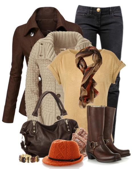 chic coat winter outfit