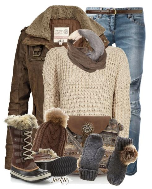 21 Perfect Winter Outfits for School 2015