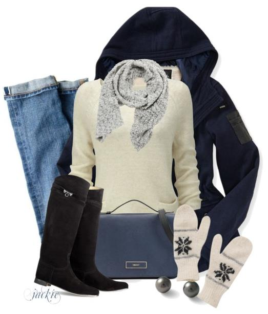 keeping toasty winter outfit