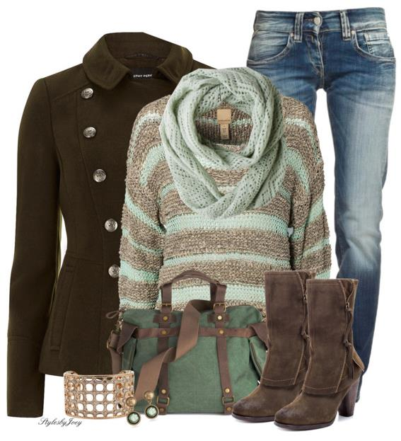 mint to be winter outfit