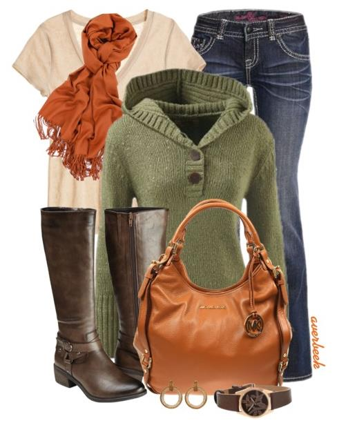 simple bright fall outfits bmodish.com