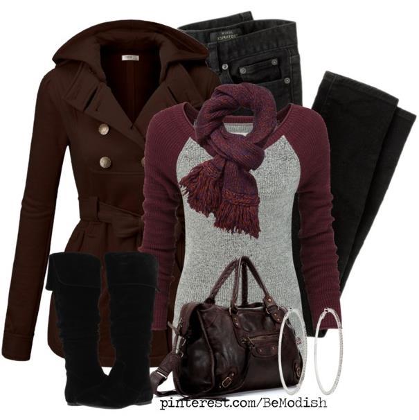 winter outfit blck jeans