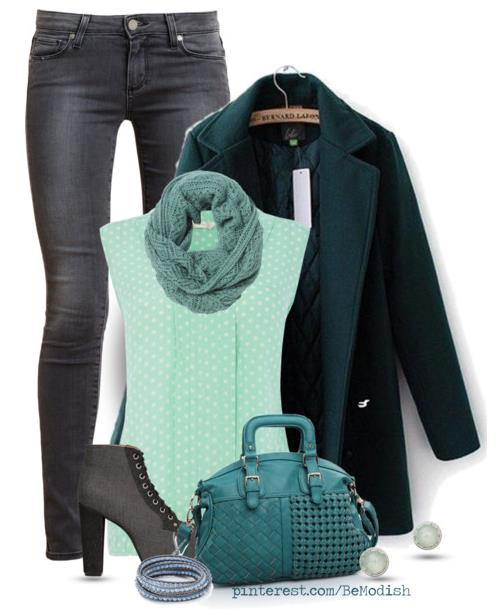 winter outfit evergreen bmodish.com