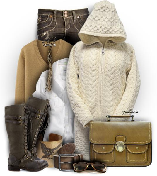 winter outfit for school ideas