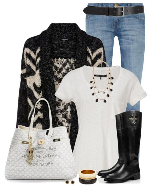Cute Fall Outfits With Jeans And Boots Polyvore