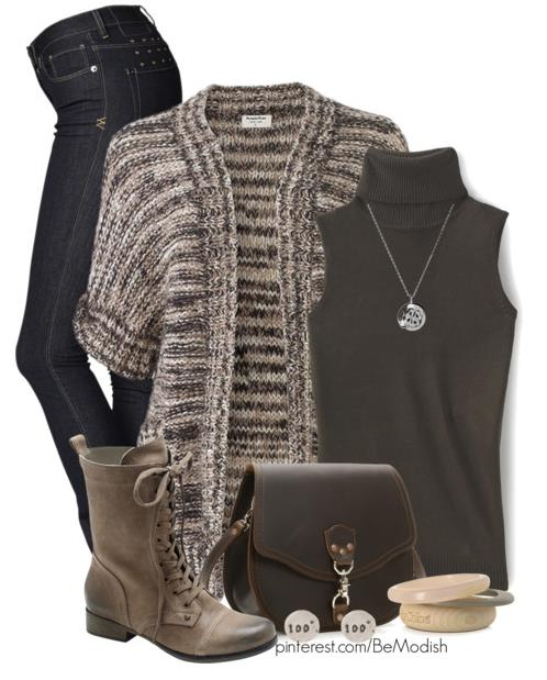 Cute Fall Outfits With Leggings And Boots
