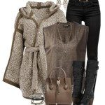 Stylish & Casual Winter Outfits 2014