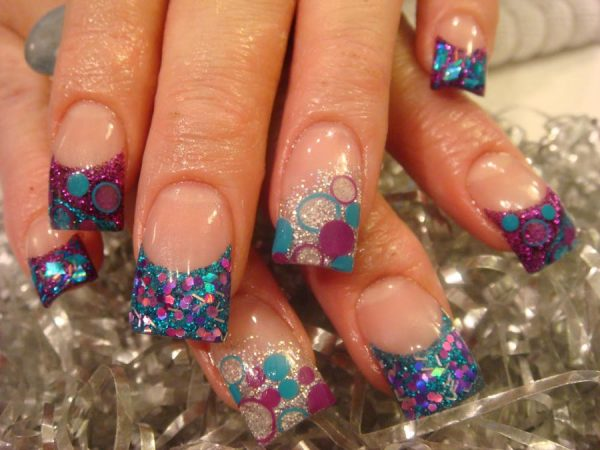 beautiful cute designs for acrylic nails - Simple Nail Design Ideas