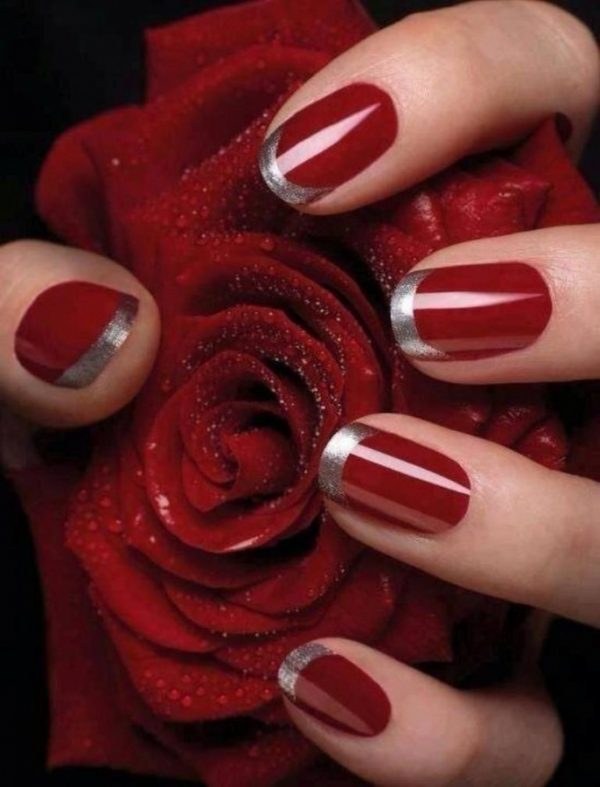 red nail designs 2014