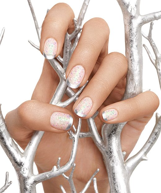 a touch of luxe hot nail art 2014