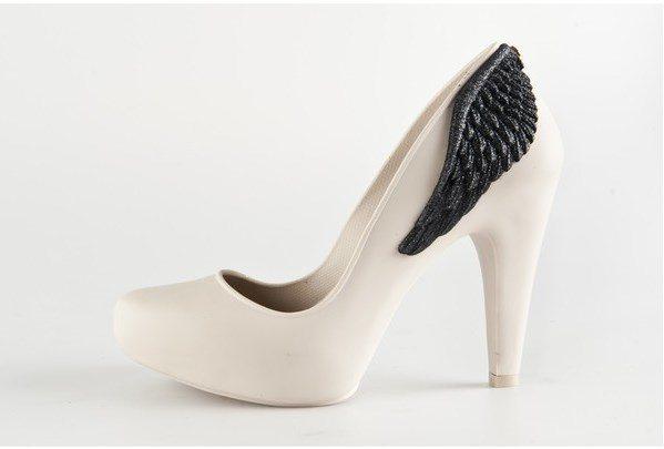 angel wings high heels