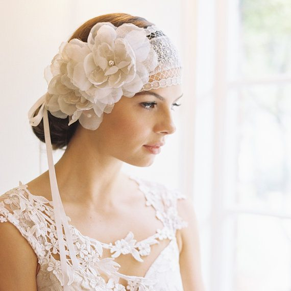 beautiful bridal headpiece 10